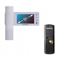 Комплект видеодомофона QUANTUM QM-434C SET
