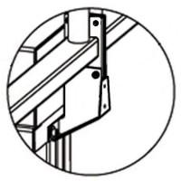 Кронштейн PERCo-RF01 0-10