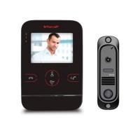 Комплект видеодомофона TOR-NET TR-25/412